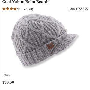 941acf92da4 coal Accessories - COAL Yukon Unisex Brim Beanie